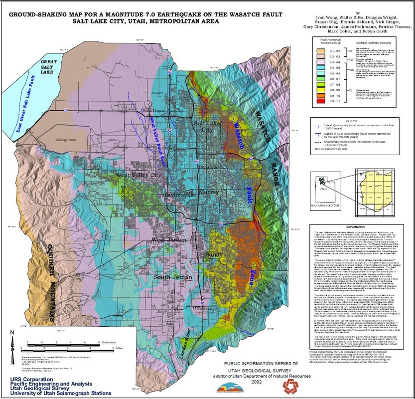 Earthquake Hazards Along The Wasatch Fault  Michael